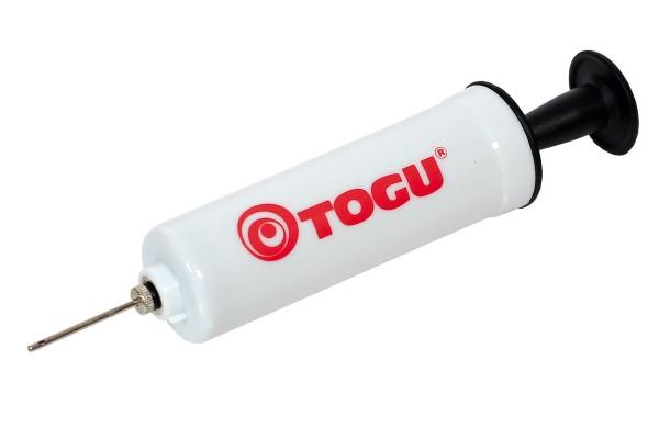 Pumpe von Togu für Bälle mit Nadelventil