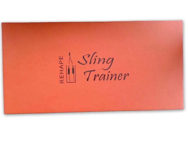 Slingtrainer Übungsmatte Terrakotta
