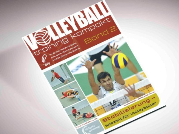 Das Buch Volleyballtraining kompakt - Band 2