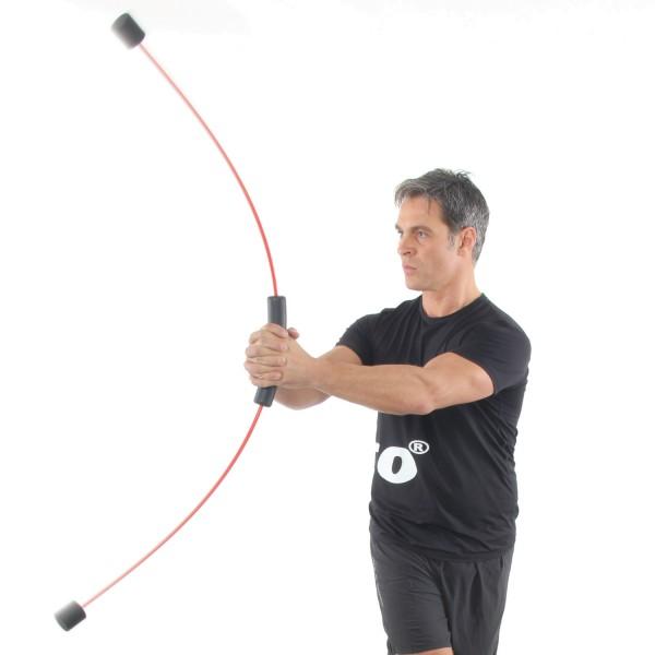 FLEXI-BAR Golf - Schwungstab mit Übungs-DVD Golf