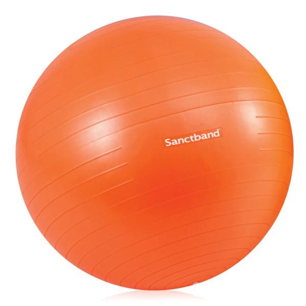 Sanctband Gymnastikball – Orange Durchmesser 55 cm