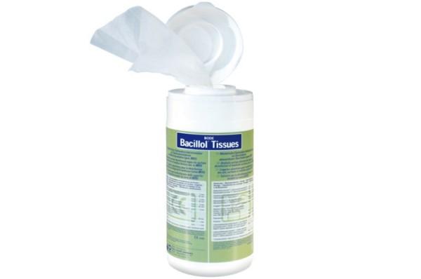100 Bacillol Tissues - ready to go