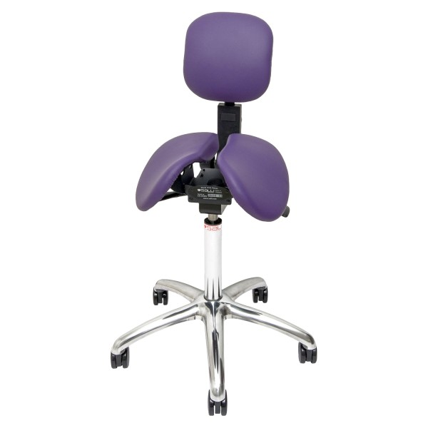 Salli Stretching Support, montiert am Salli Twin (violett)