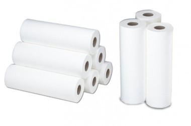 9x 50 Meter Papier auf Rolle für Behandlungsliegen