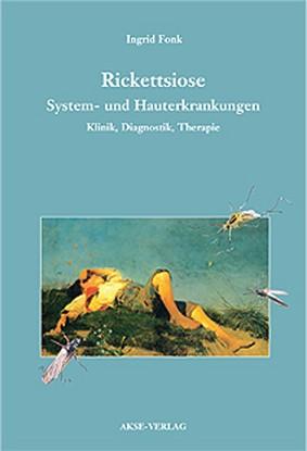 """Coverbild zum Fachbuch """"Rickettsiose-System- und Hauterkrankungen"""""""