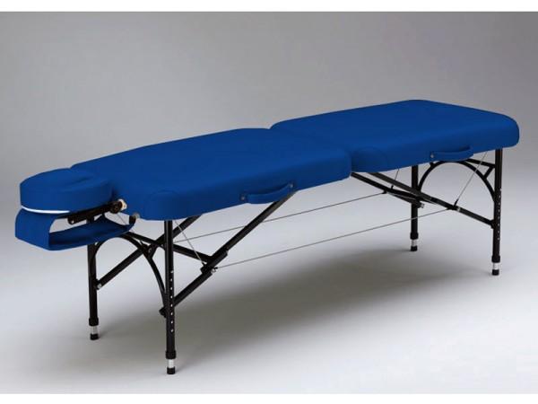 transportable leichte Massageliege VOYAGE in blau