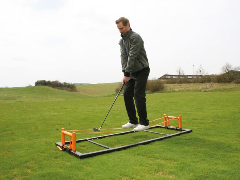 Slackline-Anwendung GolfTrainer