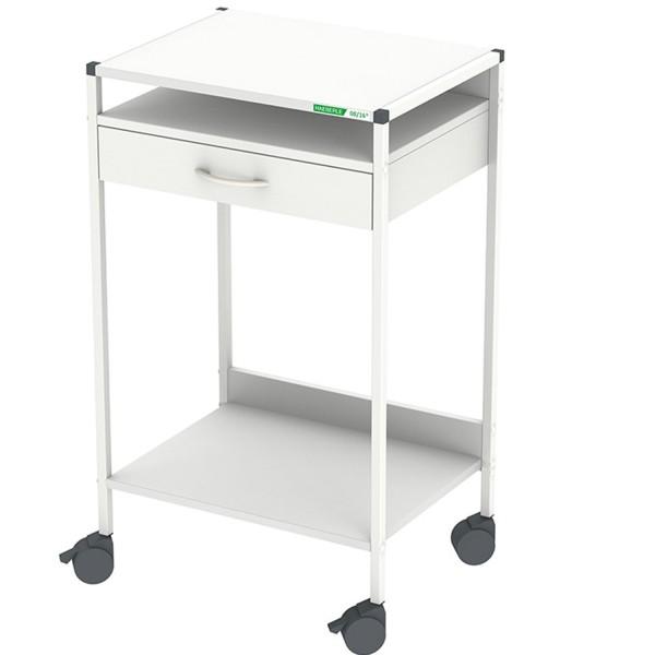Steharbeitsplatz / Laptop-Wagen 08/16® mit 1 Schublade