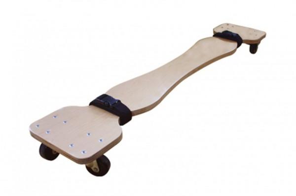 rollendes Transportbrett für Koffermassageliegen