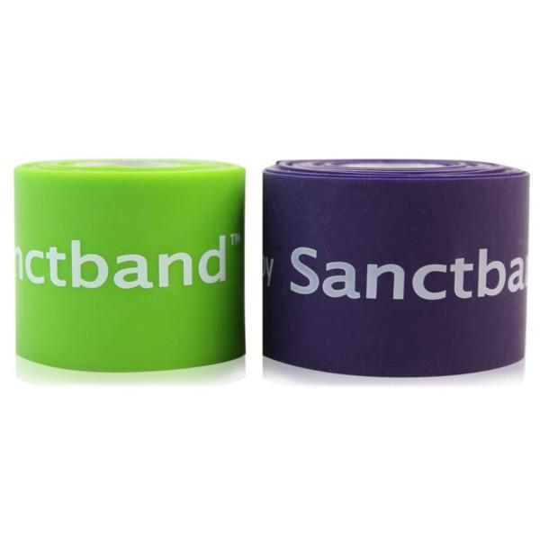 Easy Flossing bei RHAPE® - Flossband von Sanctband in Premium-Qualität - 2er Set - Level 1 & 3 - je 5 cm breit