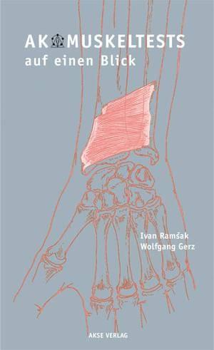 """Cover des Buches """"AK Muskeltests auf einen Blick"""""""