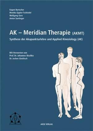 """Titelseite des Buches """"AK-Meridiantherapie (AKMT)"""""""